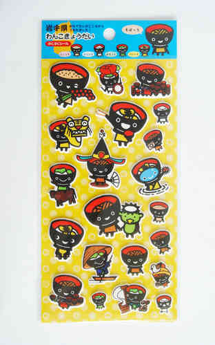 WANKO puffy sticker