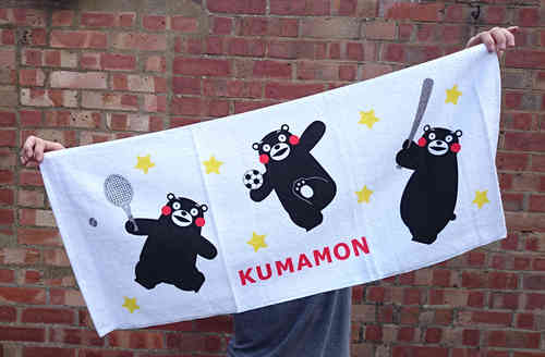 KUMAMON face towel 2