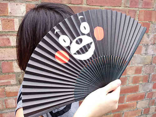 KUMAMON hand-made fan