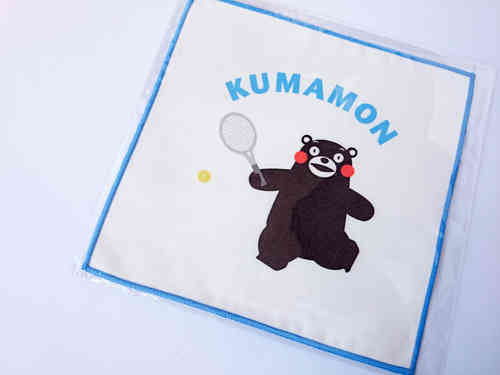 KUMAMON handkerchief - Tennis